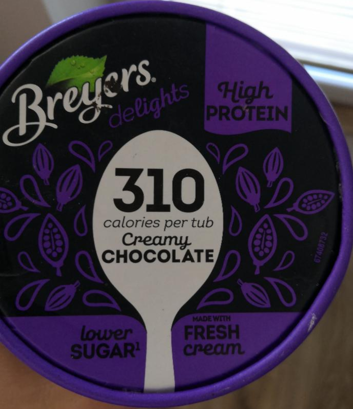 Fotografie - Breyers Delights Creamy Chocolate