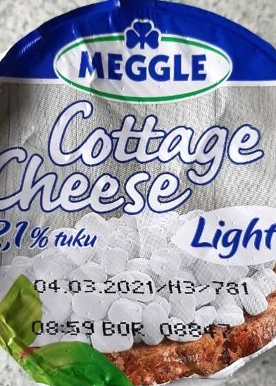 Fotografie - Cottage Cheese Light 2,1% tuku Meggle