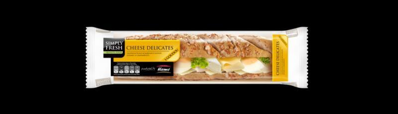 bageta Cheese delicates Simply fresh Hamé