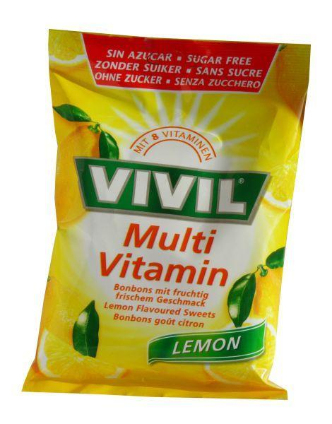 Vivil multivitamín citrón