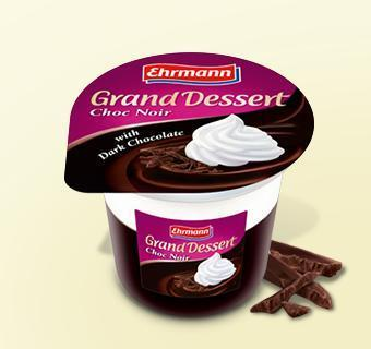 Grand Dessert Choc Noir Ehrmann