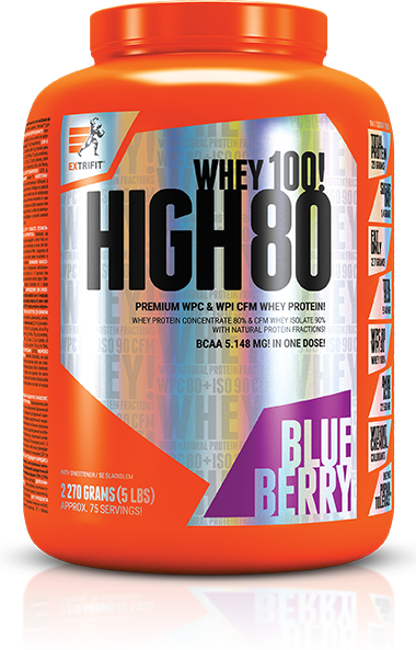 HIGH WHEY 80 borůvka Extrifit