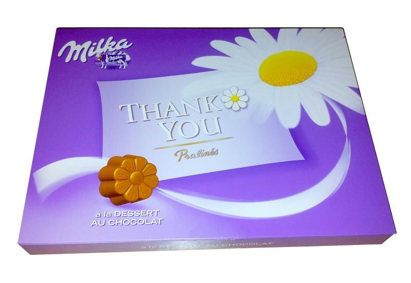 Milka Thank you Pralines