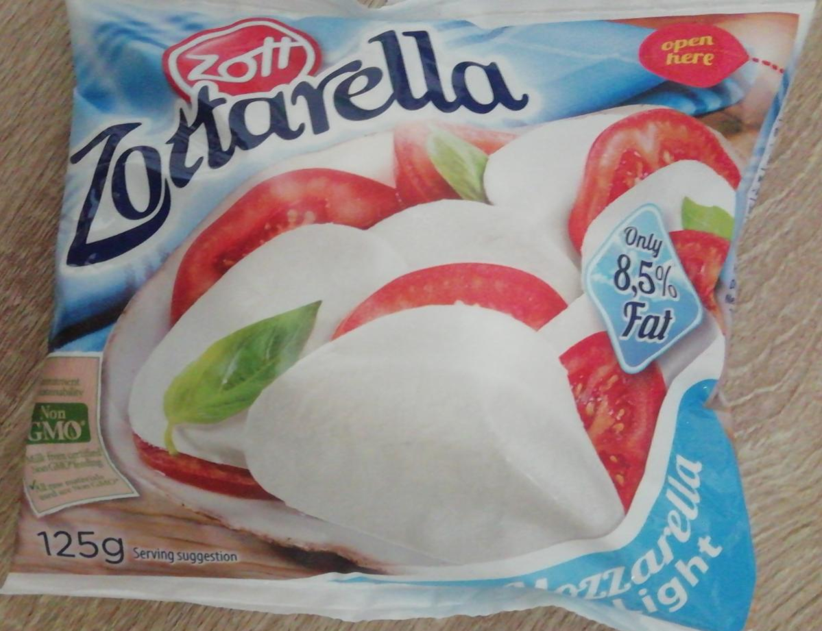 Fotografie - Zott Zottarella Mozzarella Light 8,5%fat