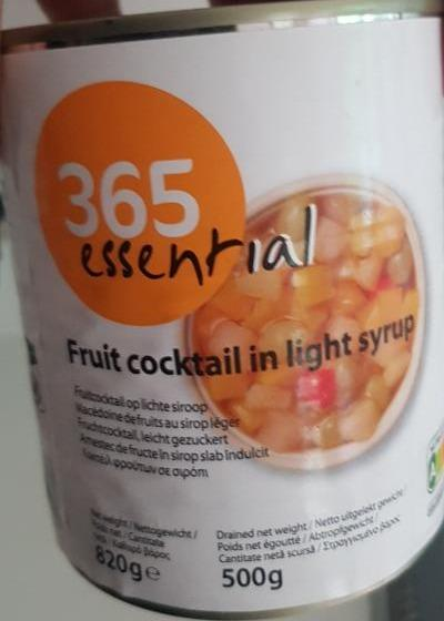 Fotografie - fruit coctail in light syrup 365 essential
