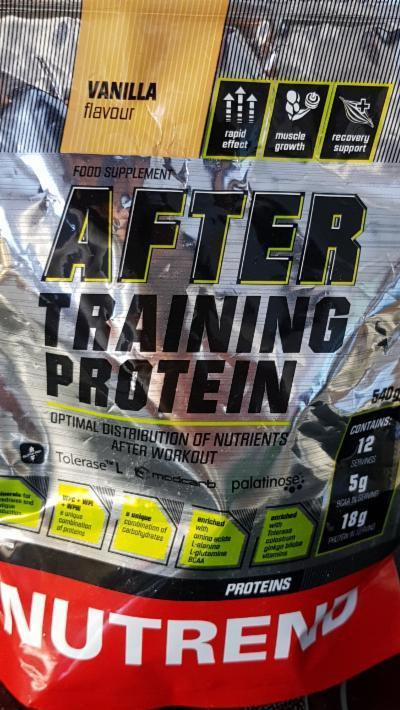 After Training Protein Nutrend